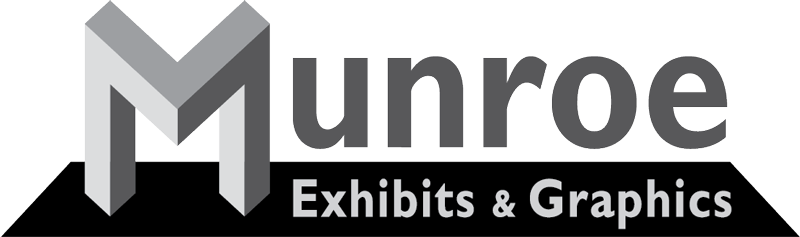 Munroe Exhibits and Graphics Logo